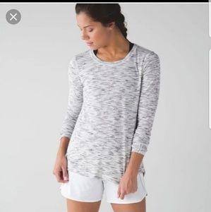 Lululemon Long Sleeve Open Back Top